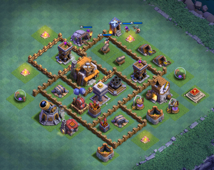 Builder Hall 5 Attack Clash of Clans