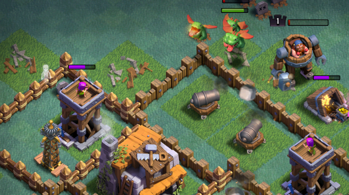 Mass Baby Dragons Attack BH5 Clash of Clans