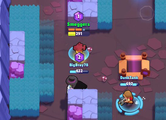 Brawl Stars Smash and Grab Gameplay Team Mode
