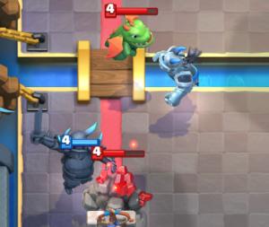 PEKKA Miner Poison Deck vs Golem Beatdown Clash Royale