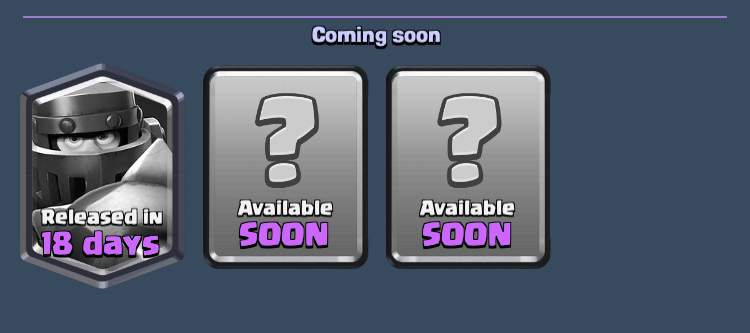 Mega Knight Release Date Clash Royale