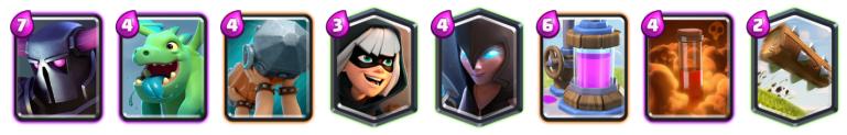 Clash Royale Triple Elixir Challenge PEKKA Battle Ram Deck