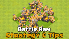 Clash of Clans Battle Ram New Troop