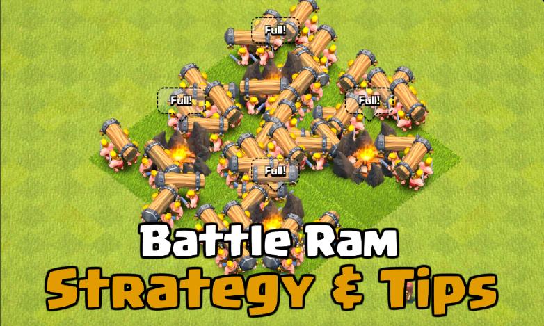 Clash of Clans Battle Ram New Troop