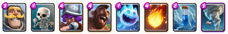 Clash Royale No Legendary Hog Deck
