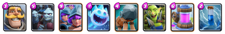 Clash Royale No Legendary Three Musketeers Deck