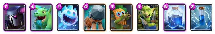 Clash Royale No Legendary PEKKA Deck