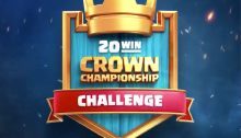 Clash Royale 20 Win Crown Championship Challenge