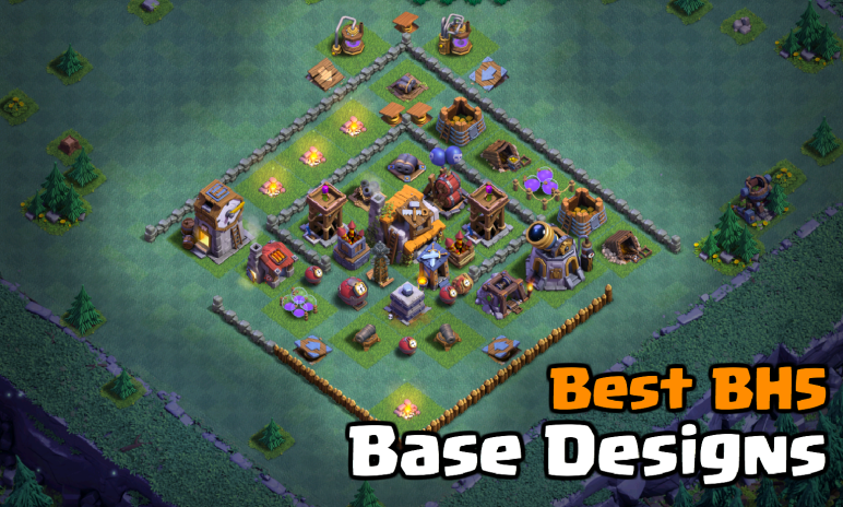 Best Builder Hall 5 Bh5 Base Designs In Clash Of Clans