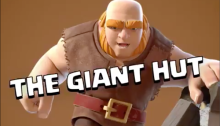 Clash of Clans Giant Builder Hut Base Design Strategy