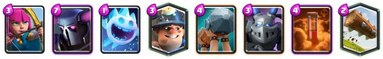 Clash Royale Best Miner PEKKA Deck