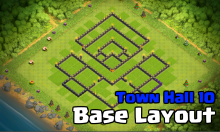 Clash of Clans Town Hall 10 Farming Base 2017