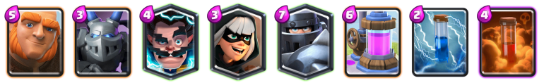 Mega Knight Giant Deck Clash Royale