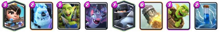 Mega Knight Zap Bait Deck Clash Royale