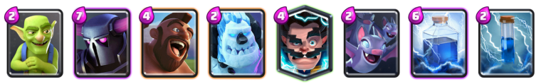 Ramp Up Challenge PEKKA Hog Deck Clash Royale