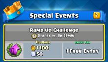 Ramp Up Challenge Decks Clash Royale