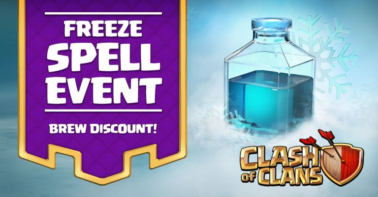 Freeze Spell Event Clash of Clans
