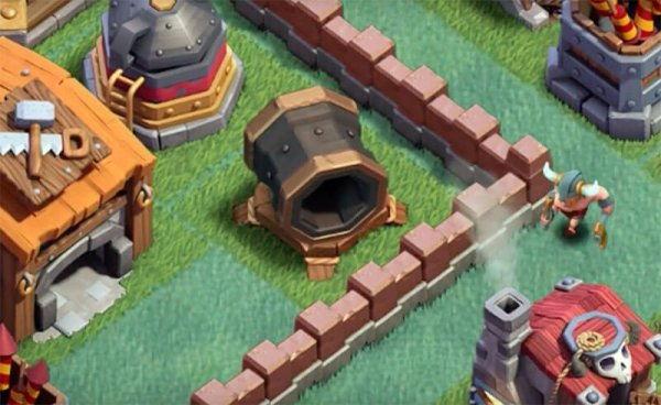 Giant Cannon Clash of Clans September Update