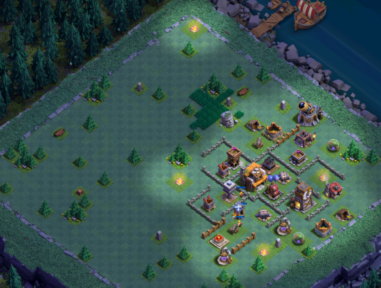 Clash of Clans BH5 Base Design Strategy