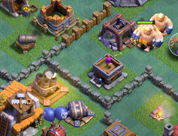 Clash of Clans Giants Attack Strategy Builder Base