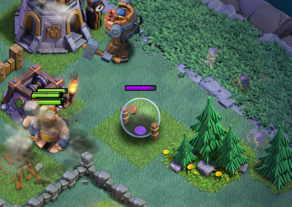 Clash of Clans Archers Attack Strategy Builder Base