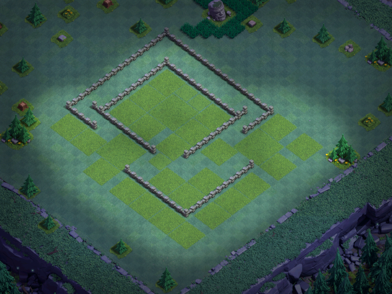 Builder Hall 5 Base Design Layout Clash of Clans