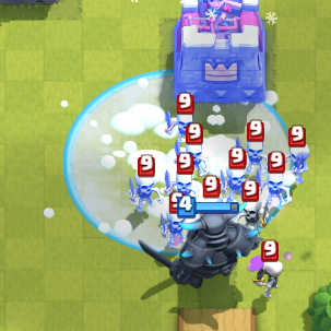 Clash Royale PEKKA Freeze