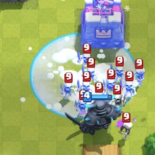 Clash Royale PEKKA Freeze