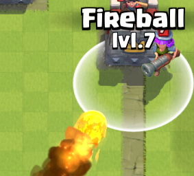 Clash Royale Fireball vs Musketeer