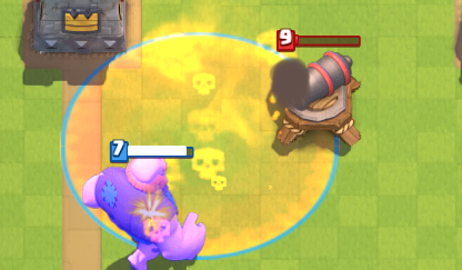 Clash Royale Giant Poison