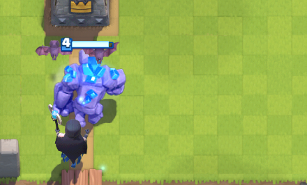 Clash Royale Giant Night Witch