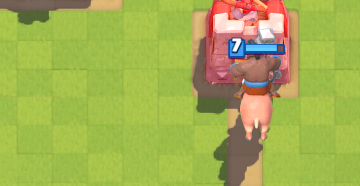 Clash Royale Hog Chip Damage