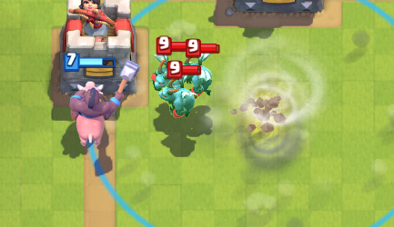 Clash Royale Hog Tornado Push