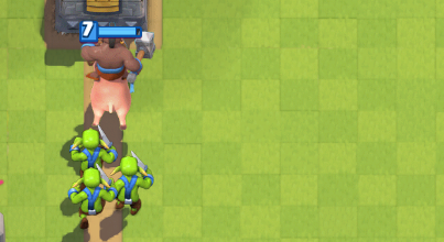Hog Goblins Push Clash Royale
