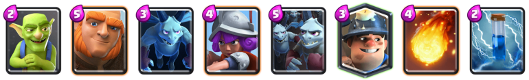 Giant Miner Deck Beatdown Deck Clash Royale