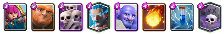 Giant Bowler Deck Beatdown Deck Clash Royale