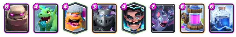 Golem Lumberjack Deck Beatdown Deck Clash Royale