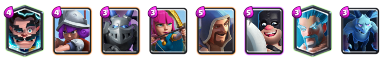 Clash Royale Best Support Cards for Beatdown Decks