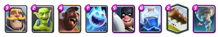 Sudden Death Challenge Deck Clash Royale Hog Executioner