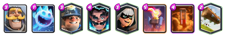 Sudden Death Challenge Deck Clash Royale Bandit Miner