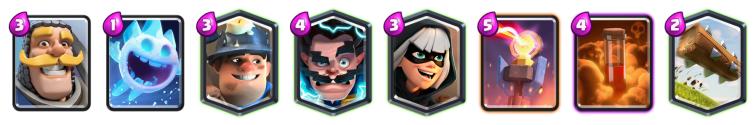 Sudden Death Challenge Deck Clash Royale Bandit Miner