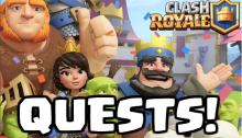 Quests Clash Royale October 2017 Update