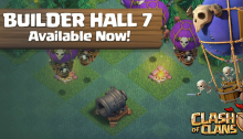 Clash of Clans Builder Hall 7 September 2017 Update