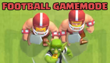 Football Gamemode Clash Royale October 2017 Update