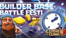 Builder Base Battle Fest Clash of Clans October Update