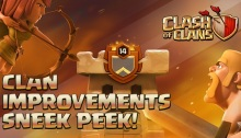 Clan Improvements Sneak Peek Clash of Clans October 2017 Update