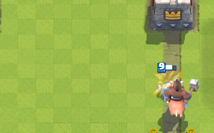 Clash Royale Hog Ice Spirit Push