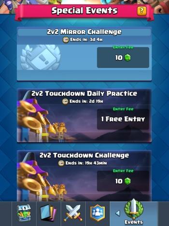 New Challenges Sneak Peek Clash Royale