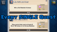 Clash Royale Every Quest October Update