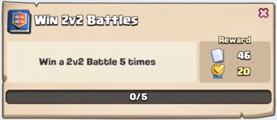 Win 2v2 Battles Quest Clash Royale